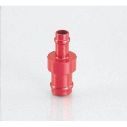 Fuel hose adaptator 4mm to 5mm by Kitaco. Red or blue