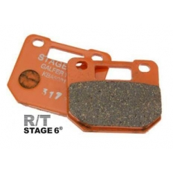 Brake pad racing for radial 4P caliper Stage6