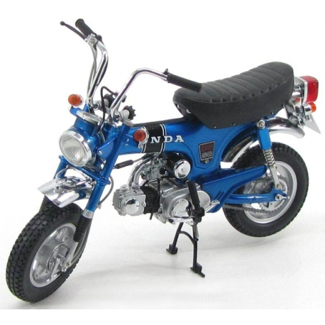 Honda Dax  Metal Blue   Scale Model