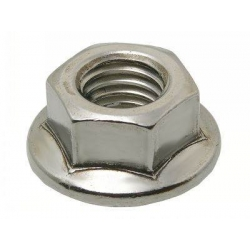 Wheel axel nut M12 x 1.25 mm, self-locking