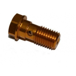 Banjo Bolt M10 x 1.25 Gold Takegawa 00-07-0007