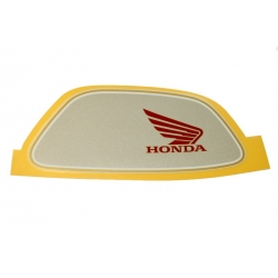 Right original tank sticker for Honda Monkey FI white