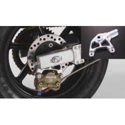 Rear Brembo 2P caliper bracket NSR wheels