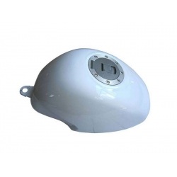 Fuel tank white for PBR and Honda ZB - Monkey-R with cap