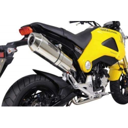 Corn Oval Full Exhaust Takegawa pour Honda MSX / Grom