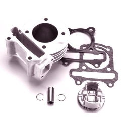 Kit Cylindre Airsal 85cc - 50 mm alu GY6 pour Kymco Agility, Dink, super8 - Peugeot V-click - Baotian
