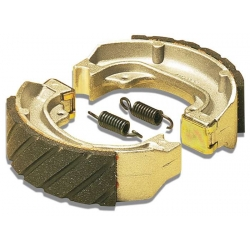 Rear drum brakes shoes Malossi for Piaggio - Gielera