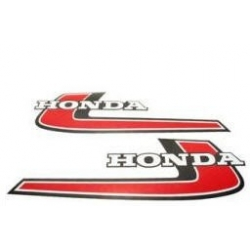 Fuel tank stickers for Honda Monkey Z50 '76