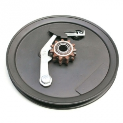 Transmission pulley for MBK 51 with 11 teeth sprocket