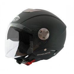 Helm Jet MT City Eleven zwart mat