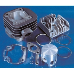 Cylinder kit Polini Ovetto, Neos, Jog, PGO, Grido, Aprilia SR, 47 mm with head