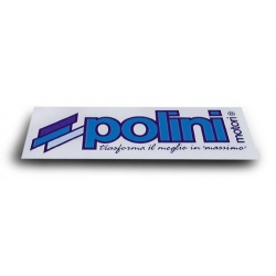 Sticker Polini 120 x 40mm
