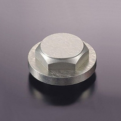 Titanium anodized nut for G-Craft triple tree