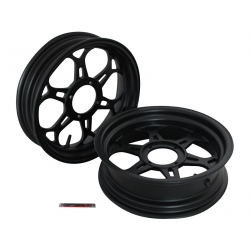"Kepspeed KP7 wheels set 2.75+3.50 12"" black"