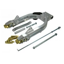 Kepspeed + 6cm High Polished swingarm for Honda Dax ST CT and Skyteam