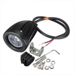 Mini light LED power 12V 10W SPOT black