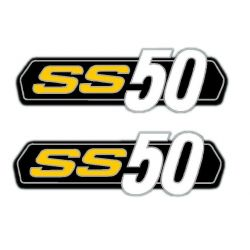 Sticker / decal set Honda SS50 - repro
