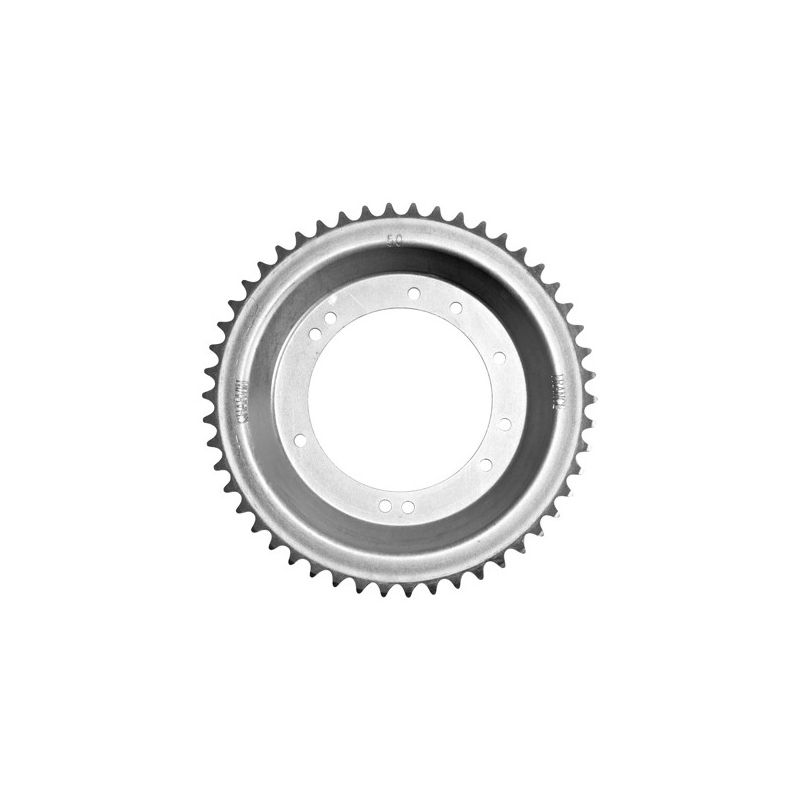Rear sprocket for Peugeot 103 moped with Grimeca rims from