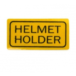 "Sticker "" Helmet Holder """