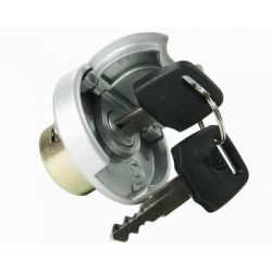 Fuel tank cap with lock for Peugeot V-Clic Baotian Beeline Jonway and other chinese scooters