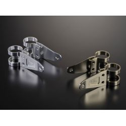 G-Craft Headlight bracket set diam.30 mm - lenght 85 mm