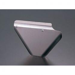 G-Craft brushed aluminium right side cover Honda Monkey Gorilla and Singa Skymini Bongo