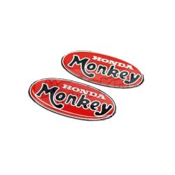 Paire d'autocollants - stickers domés type Monkey Z50A. Reproduction