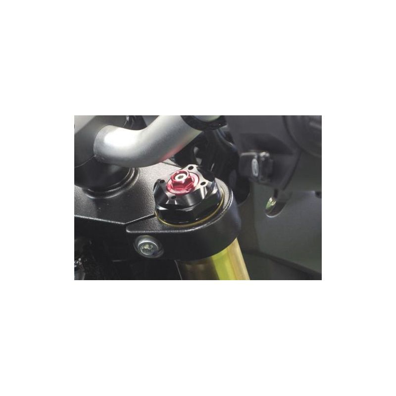 Takegawa pair of tuning caps for fork tube Honda Msx Grom 125 cc