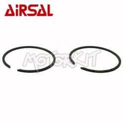 Piston ring set Airsal 46 x 1.50 central pin closure