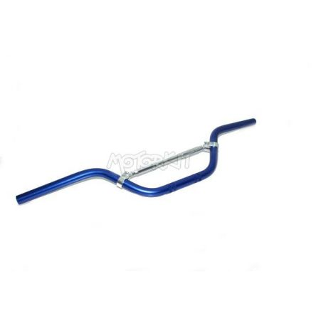 Handlebar 22mm blue color with cross bar