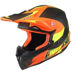 Cross helmet NoEnd Defcon Orange/Black mat