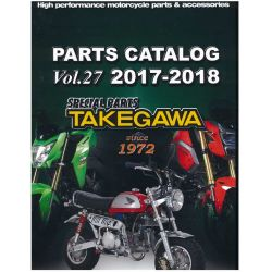 Parts catalog Takegawa Vol.27 2017-2018 10-01-0046