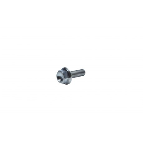 Titanium GR-5 Flanged Hex screw M6 x 20 mm price : 2,69 € MKR Product  TI-M6-20-6921 available at MOTORKIT