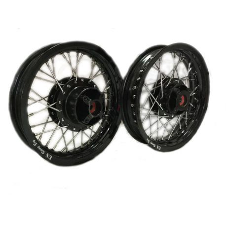 Spokes wheels pair for Honda MSX - Grom black or gold