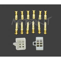 Connector plug set 6 pins (14pcs)