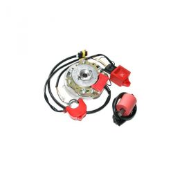 Allumage rotor interne HPI 2 courbes pour scooter chinois 2temps CPI Keeway TNT Neco