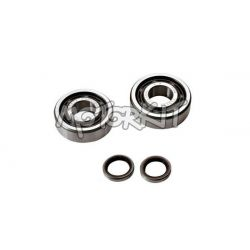 Cranshaft bearings set with oil seals for MBK 51 - Motobécane