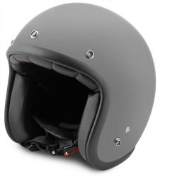 Helm No-End jet Tribute Grey mat