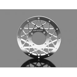 Wheel plate silver Kepspeed for 10 inch