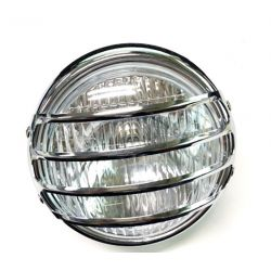 Front light with chrome grid FS1 - DX - complete