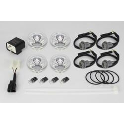 Takegawa Blaze clear winker lens led set for Honda Monkey 125cc