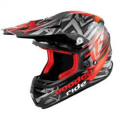 Helmet cross VooDoo Ride Icon Red