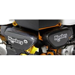 Tyga carbon side cover set for Honda Monkey 125 (JB02)