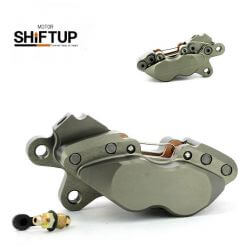 Shift-UP 4-pods Titanium anodised right brake caliper for Honda Monkey MSX GROM