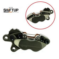 Billet brake caliper 4 pods Shift Up - left