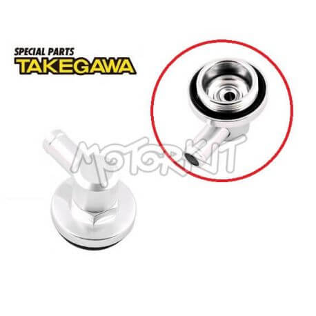 Takegawa oil filler cap with air breather for clutch housing 07-06-0001