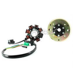 Magnetic Flywheel and Rotor Ignition for GY6 125cc chinese 4Stroke Agility Baotian ..