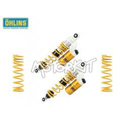 Ohlins oleo-pneumatic shock absorbers for Honda Monkey 125 cc