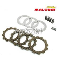 Malossi reinforced clutch disks set for Derbi Senda - GPR Euro 1 - 2 - 3