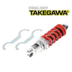Shockabsorber Takegawa SP CNC red for Honda MSX 125 / Grom 06-04-0090